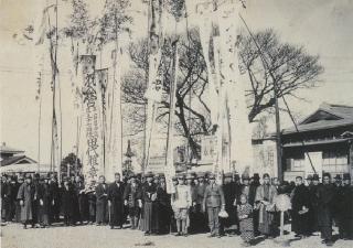 C1936(昭和11)1月9日 成田町から佐倉連隊へ赴く入営者の歓送記念写真.jpg
